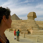 The energy from the Sphinx almost made my head explode.